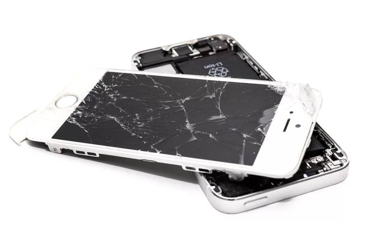 arreglar pantalla móvil rota