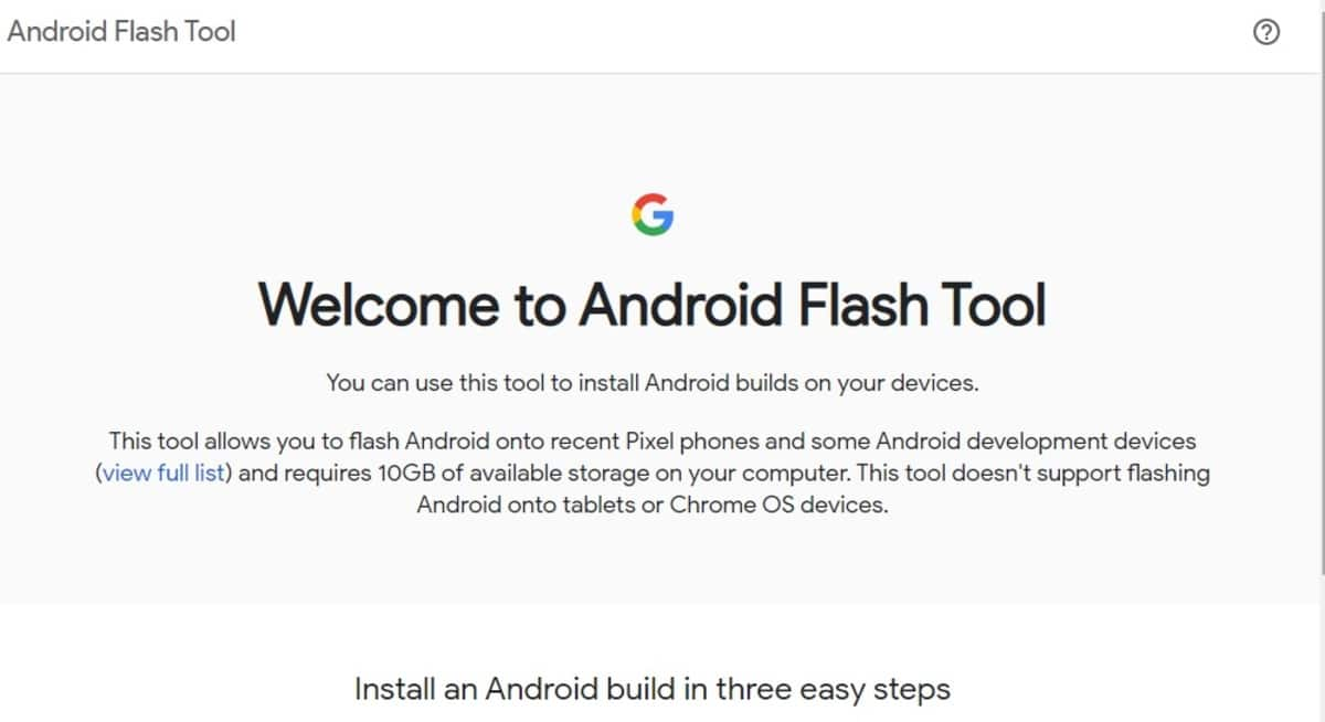 Flash Tool Android